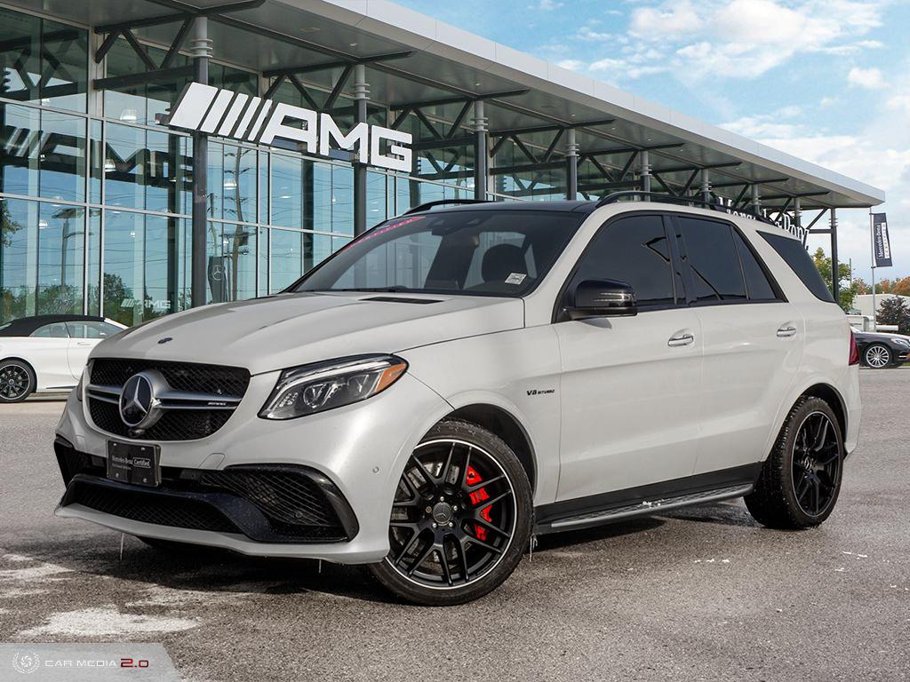 Certified Pre-Owned 2017 Mercedes-Benz GLE S 4MATIC SUV