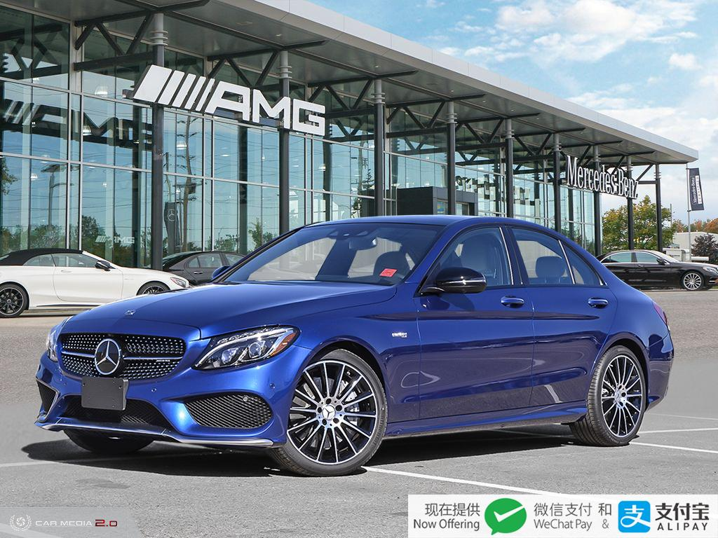 Certified Pre-Owned 2018 Mercedes-Benz C-Class 4MATIC Sedan