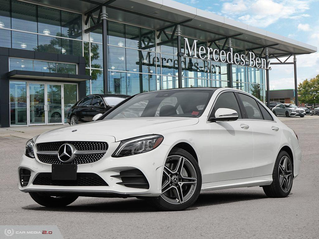 New 2020 Mercedes-Benz C-Class 4MATIC Sedan
