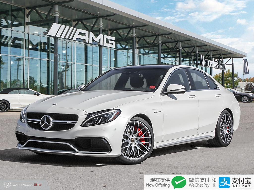 Certified Pre-Owned 2018 Mercedes-Benz C-Class Sedan
