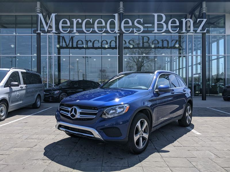Certified Pre-Owned 2017 Mercedes-Benz GLC 4MATIC SUV