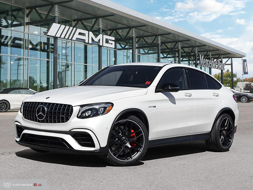 New 2019 Mercedes-Benz GLC63 AMG S 4MATIC+ Coupe
