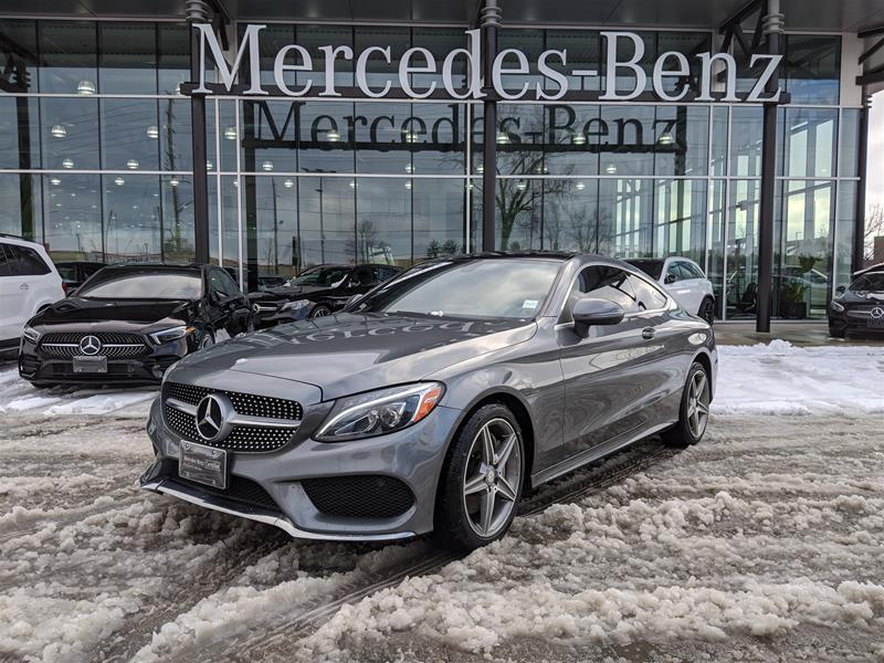 Certified Pre-Owned 2017 Mercedes-Benz C-Class 4MATIC Coupe
