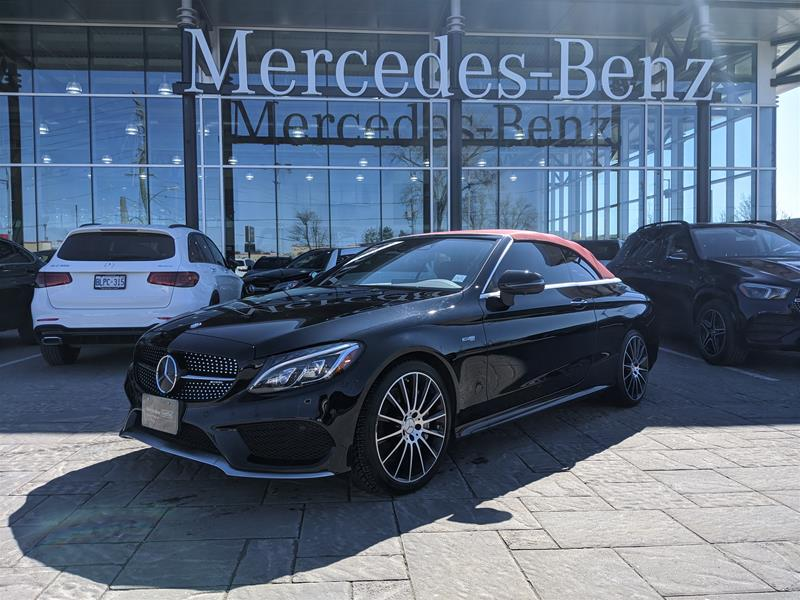 Certified Pre-Owned 2017 Mercedes-Benz C-Class 4MATIC Cabriolet