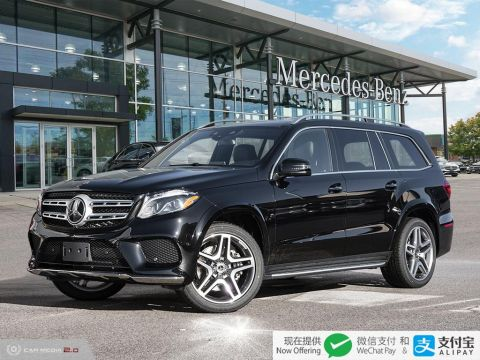 New 2019 Mercedes-Benz GLS 4MATIC SUV