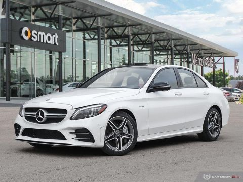 New 2019 Mercedes-Benz C-Class 4MATIC Sedan