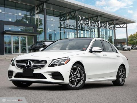 Pre-Owned 2020 Mercedes-Benz C-Class 4MATIC Sedan