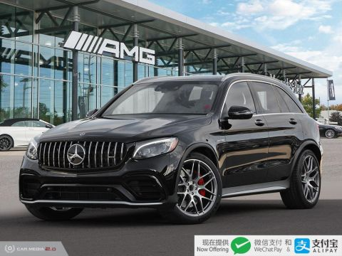 New 2019 Mercedes-Benz GLC S 4MATIC + SUV