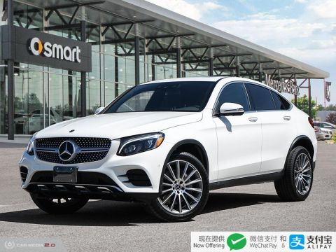 New 2019 Mercedes-Benz GLC 4MATIC Coupe