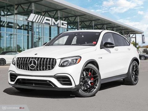 New 2019 Mercedes-Benz GLC S 4MATIC+ Coupe
