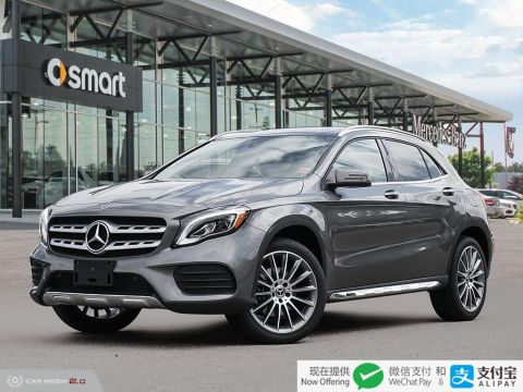 New 2019 Mercedes-Benz GLA 4MATIC SUV
