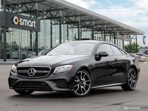 New 2019 Mercedes-Benz E-Class 4MATIC+ Coupe