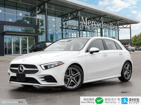Pre-Owned 2019 Mercedes-Benz A-Class 4MATIC Hatch
