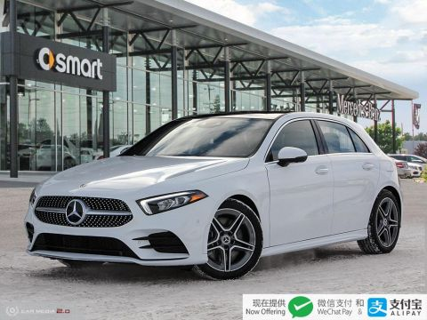 New 2019 Mercedes-Benz A-Class 4MATIC Hatch