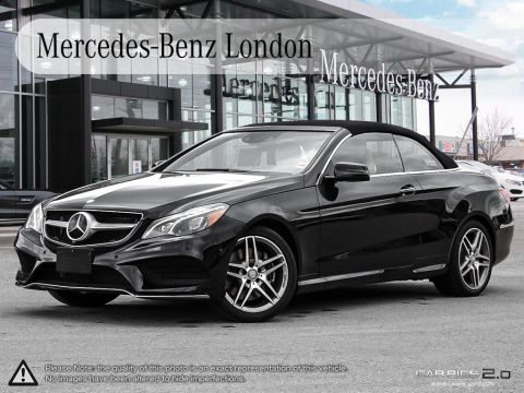 Certified Pre-Owned 2017 Mercedes-Benz E-Class Cabriolet