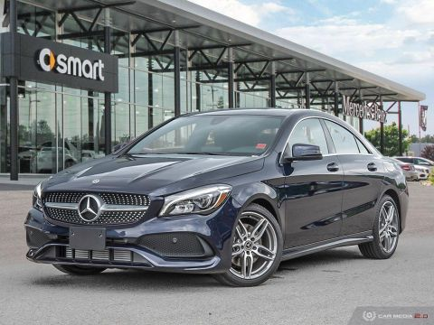 Certified Pre-Owned 2018 Mercedes-Benz CLA 4MATIC Coupe
