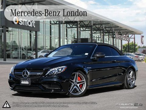 Certified Pre-Owned 2018 Mercedes-Benz C-Class Cabriolet