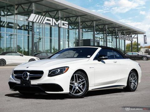 Certified Pre-Owned 2017 Mercedes-Benz S-Class 4MATIC Cabriolet